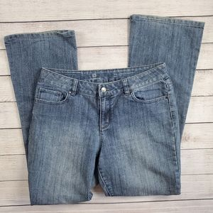 Liz Claiborne   Stretch bootcut, medium wash